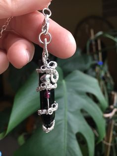Wire Wrapping Crystals, Fill Light, Protection Stones, Gold Wire, Swarovski Pearls, Black Onyx, Rose Quartz, Garnet, Elf