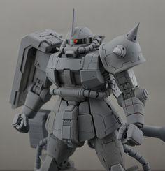 Side 3 Hobby High Mobility zaku resin kit for MG hi-zaku GKHZ Gundam Tutorial, Gundam Custom Build, Sci Fi Models, Frame Arms, Robot Design, Scribe, Gundam Model, Mobile Suit, Art Model