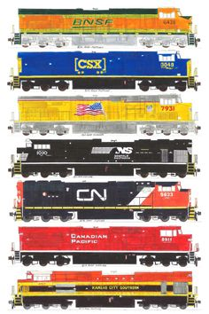 7 hand drawn Class 1 locomotive drawings by Andy Fletcher Lego Trains, Old Trains, Train Illustration, Train Drawing, Canadian Pacific Railway, Train Posters, Railroad Pictures, Railroad History, Ho Scale Trains