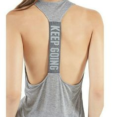Nwot! Active Tank New without tags! Polyester/spandex. Very breathable and comfortable, perfect for hot summer days. Tops Tank Tops