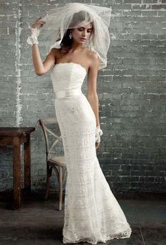 Galina Exclusively at David's Bridal - VW9340 | Photos | Brides.com