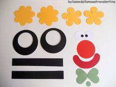 La classe della maestra Valentina: PREPARATI PER LA CLASSE DI CARNEVALE 2    clown