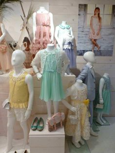 The special event collection at Monsoon kids is always strong for the summer season, here for spring 2014