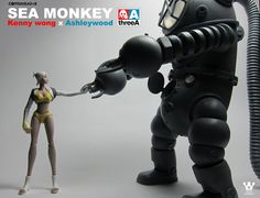 1/12th scale Sea Monkey by Kenny Wong and ThreeA