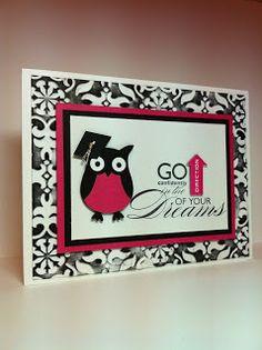 Stampin' Harley Girl: Graduation Card