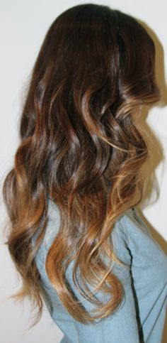 Box No. 216: ombre hair color.  Totally doing this to my hair in the summer:)
