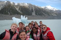 ENGL study abroad in New Zealand.