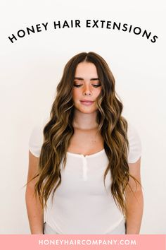 Clip in Extensions, Tape In Extensions, brunette goals, hair goals, balayage, brown balayage, brunette, 2020 hair trends Hair Extensions Best, Tape In Hair Extensions, Brown Balayage, Balayage Brunette, Honey Hair, Remy Hair, Hair Trends, Hair Goals, Cool Hairstyles