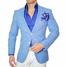 Sebastian Cruz Couture Exclusive Italian Fabric with 2% elastaine that will allow the fabric to mold with your body type. SCC Notch Lapel with lapel button whole Fully Lined Double Button Closure Soft, natural shoulder construction Chest Barchetta Pocket Dual Vents SCC Custom Buttons Patch Pockets All of our jackets a