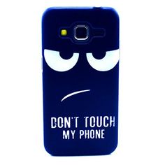 """For Galaxy Core Prime SM-G360F , ivencase Funny Angry Face Pattern Protective Flexible Ultra Slim Texture Hard [Rear] Skin Case Cover Perfect Fit for Samsung Galaxy Core Prime SM-G360F G3606 G3608 G3609 + One """"ivencase """" Anti-dust Plug Stopper, http://www.amazon.com/dp/B010FHN1T4/ref=cm_sw_r_pi_awdm_5dj6vb161MVAT"""