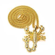 Scorpion Hip Hop Necklace (2 colors)