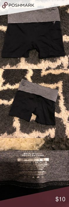 Yoga shorts! Black and grey yoga shorts! Used a couple times. Size small! Shorts