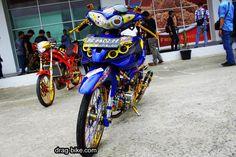 Modifikasi Jupiter Z Racing Look Satria Fu, Drag Bike, Mitsubishi Pajero, Busa, Drag Racing, Cars And Motorcycles, Yamaha, Honda, Thailand