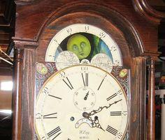 Antique grandfather clock retrofitted with Arduino control