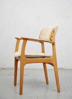 Dining Chair #50 von Erik Buch für O.D.Møbler, Oak/Eiche