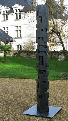 sculpture bois extérieur