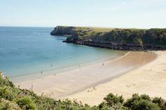 Barafundle Bay Pembrokeshire wales