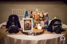 Love, paper and co. | Nerd Wedding	    #Wedding Design Bologna #Lovepaperandco #gspotlabs # centerpiece #starwars  #tablenumbers #weddingtable  #eventdesign #matrimonio #weddingdesign #weddingday #love #centrotavola
