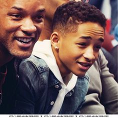 This boy shows promise of getting as handsome as his dad. Jaden Smith
