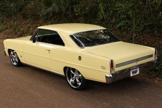 1967 CHEVROLET CHEVY II NOVA Maintenance of old vehicles: the material for new cogs/casters/gears/pads could be cast polyamide which I (Cast polyamide) can produce