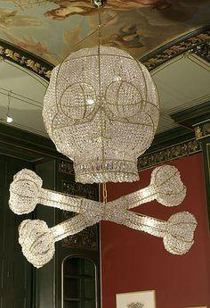 Skull Chandelier.....