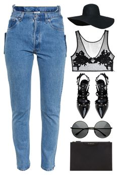"""#885"" by anna-annita ❤ liked on Polyvore featuring Givenchy and Vetements"