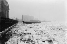 Ice floes off Greenwich in March 1890. by National Maritime Museum, via Flickr #thamesdiscovery #greenwichfrogs #greenwichpalace