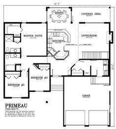 Deneschuk Homes 1700 + sq ft Home Plans RTM   Floor plans ...