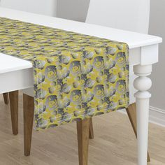 Nature's way hex on Minorca by diseniaz Cloth Napkins, Vanity Bench, Tea Towels, Custom Fabric, Table Runners, Spoonflower, Elegant, Furniture, Design