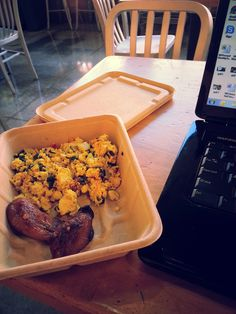 Tofu scramble and plantains @Whole Foods Market  - silver spring!