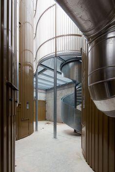 MoDus Architects, GÅnther Wett · Subsidiary Heating Plant. Milland · Architettura italiana