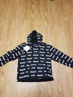 0a3dd03118f4 Fuct FTP X FUCT ALL OVER PRINT HOODIE Size US L   EU 52-54