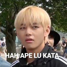 Funny Kpop Memes, Stupid Memes, Bts Memes, Weightlifting Kim Bok Joo, Korean Drama Funny, Seventeen Memes, Bts Face, Bts Meme Faces, All Meme
