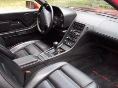 1991 Porsche 928 GT interior - 25K miles