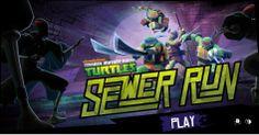 Teenage Mutant Ninja Turtles Sewer Run game online