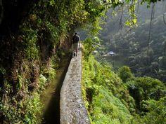 canal des esclaves randonnée de 4h, 8.5km / Nord de l'ile