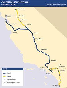 49 Best California High Speed Rail images