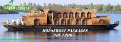 We #Invite You To #Experience The #Romantic #Backwaters Of #Kerala With Us....! Reach us GreenLeisure Tours & Holidays for any #Kerala #Tour #Packages   www.greenleisuretours.com   For inquiries  - Call/WhatsApp: +91 9446 111 707  or Email – info@greenleisuretours.com Like us https://www.facebook.com/GreenLeisureTours for more updates on #Kerala #Tourism #Leisure #Destinations #SiteSeeing#Travel #Honeymoon #Packages #Weekend #Adventure…