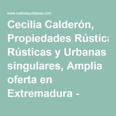 Cecilia Calderón, Propiedades Rústicas y Urbanas singulares, Amplia oferta en Extremadura - LOCAL EN ZONA ANTIGUA DE CÁCERES