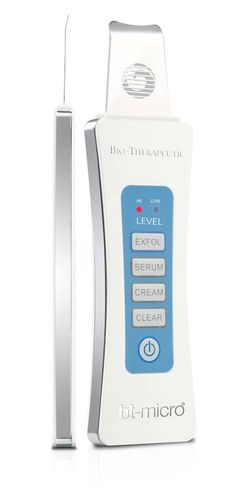 Bio-Therapeutics has redesigned the bt-Micro into a sleeker and lighter design for easier and more precise professional treatments. INCLUDED: - bt-Micro device - storage case with carry loop - usb cha