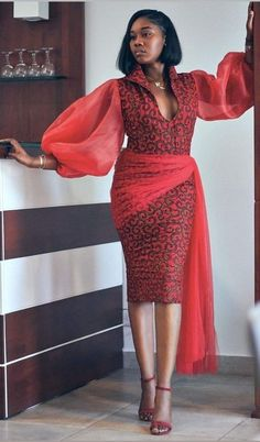 African Prom Dresses, Ankara Dress Styles, Latest African Fashion Dresses, African Dresses For Women, African Print Fashion, African Attire, African Women, Ankara Fashion, African Wear