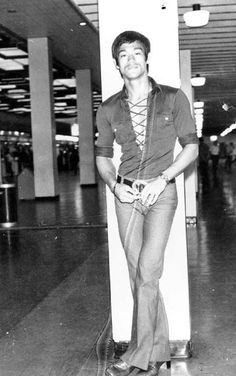 Bruce Lee one of my first crushes