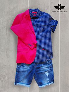 #saxoolondon #menswear #love #red #blue #jeans #summer