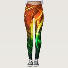 Reggae vibration - power Yoga put-went Leggings - yoga health design namaste mind body spirit