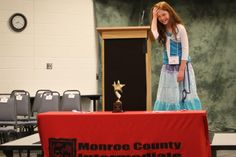 Monroe Road Elementary School student Brianna Lanzen won the 2013 Monroe County MI Spelling Bee. Story and photo gallery from the competitions at the link.