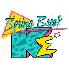 Spring Break | 90s Inspired Shirt Design | Kappa Sigma | South by Sea | Greek Tee Shirts | Greek Tank Tops | Custom Apparel Design | Custom Greek Apparel | Fraternity Tee Shirts | Fraternity Tanks | Fraternity Shirt Designs: