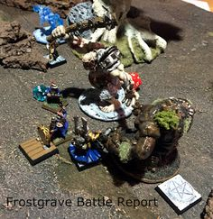 Must Contain Minis: Frostgrave: The Well of Dreams and Sorrows Battle ...