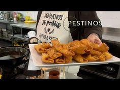 Pestiños. Santo Espíritu del Monte. Gilet. Valencia. - YouTube Chicken Wings, Food And Drink, Valencia, Ethnic Recipes, Youtube, Spain, Cupcakes, Gastronomia, Bagels