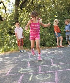Bring Back Old-Fashioned Playtime  Children running Encourage your kids to put away the video games and get outdoors for some good, old-fashioned fun. Try three new ways to play tag; learn how to make soap bubbles; and perfect your jump-rope skills.