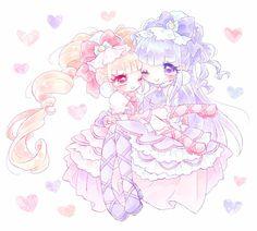 Pretty Cure, Manga Art, Anime Manga, Anime Witch, Lovely Smile, Glitter Force, Anime Films, Magical Girl, Cartoon Art